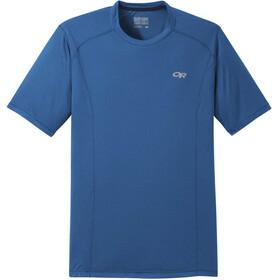 Outdoor Research Echo Camiseta Manga Corta Hombre, azul
